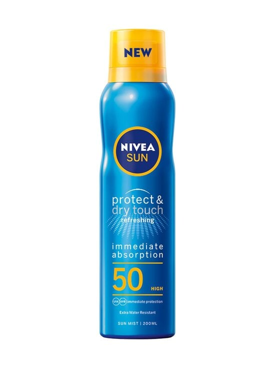 NIVEA - Sun Protect & Dry Touch Refreshing Sun Mist SK 50 -aurinkosuojasuihke 200 ml - NOCOL | Stockmann - photo 1