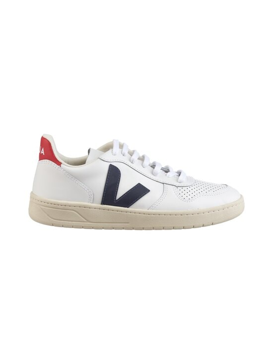 VEJA - V-10 Leather -nahkatennarit - EXTRA-WHITE NAUTICO PEKIN | Stockmann - photo 1