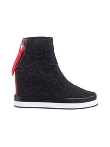 Dkny - Sawyer Wedge -sneakerit - 005 BLACK/WHITE | Stockmann