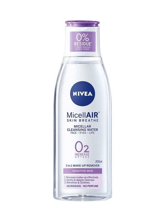 NIVEA - MicellAIR SKIN BREATHE® Micellar Water Sensitive Skin -puhdistusvesi herkälle iholle 200 ml - null | Stockmann - photo 1