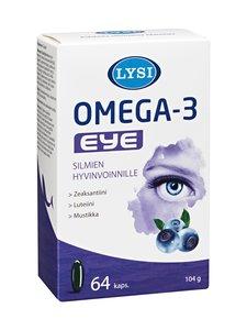 Lysi - Omega-3 Eye -ravintolisä 64 kaps. - null | Stockmann