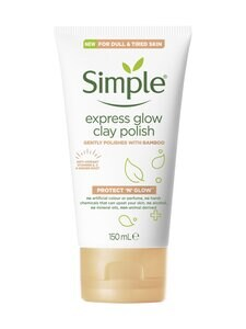 Simple - Express Glow Clay Polish -kuorintaaine   Stockmann