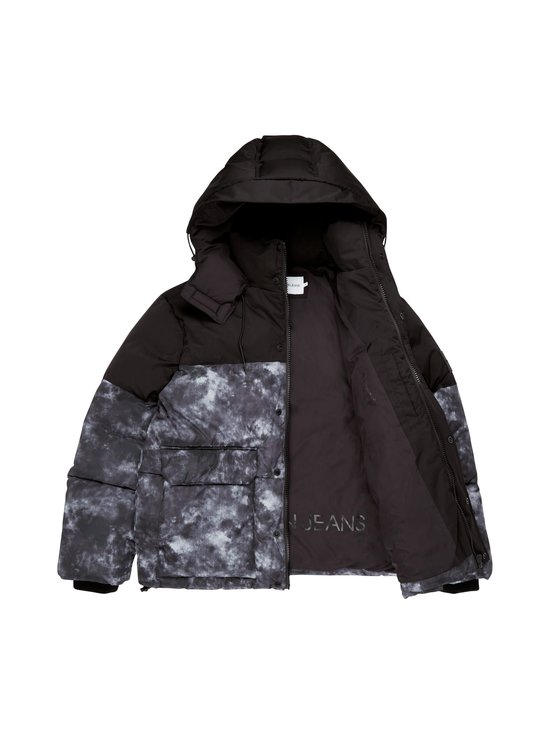 Calvin Klein Jeans - Cloud Print Puffer -toppatakki - BEH CK BLACK | Stockmann - photo 2