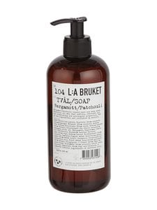 L:A Bruket - No 104 Bergamott/Patchouli -nestesaippua 450 ml | Stockmann