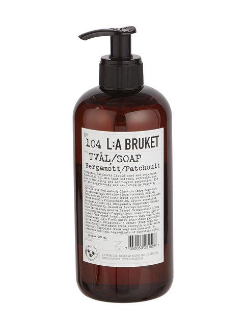 No 104 Bergamott/Patchouli -nestesaippua 450 ml