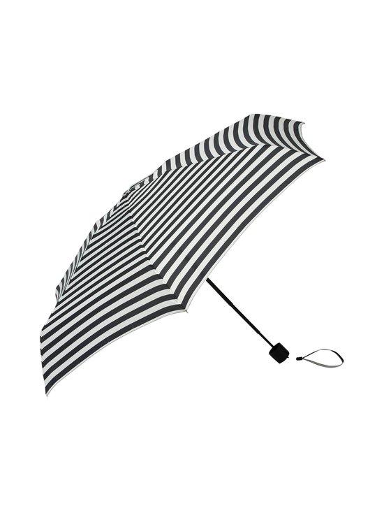 Marimekko - Ansiina Tasaraita -sateenvarjo - VALKOINEN/MUSTA | Stockmann - photo 1