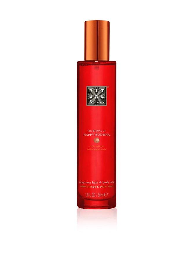 The Ritual of Happy Buddha Hair & Body Mist -suihke 50 ml