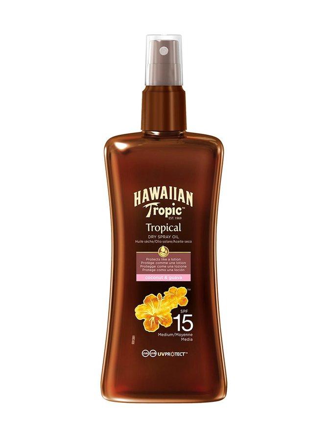 Hawaiian Protective Dry Spray Oil SPF 15 -aurinkosuojaöljy 200 ml