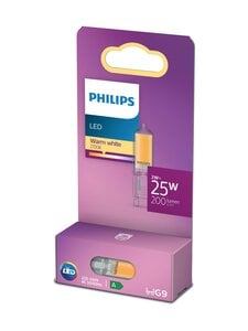 Philips - LED Capsule 25W G9 Warm White -polttimo - WHITE | Stockmann