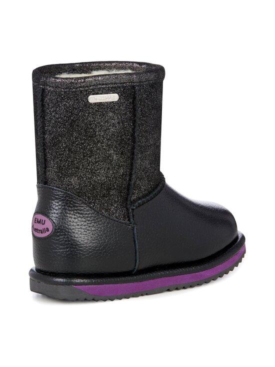 EMU Australia - Sparkle Trigg waterproof winter shoe -nahkanilkkurit - BLACK | Stockmann - photo 4