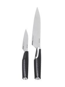 Fiskars - Titanium-kokkiveitsi ja -vihannesveitsi - BLACK   Stockmann