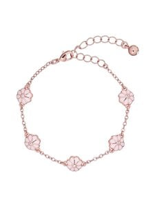Ted Baker London - Delmara Daisy Chain Bracelet -rannekoru - ROSE GOLD, BABY PINK | Stockmann