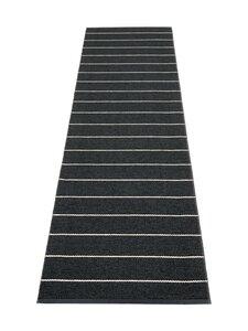 Pappelina - Carl-muovimatto 70 x 270 cm - BLACK CHARCOAL   Stockmann