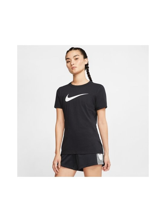 Nike - W Dry Tee -paita - BLACK/BLACK/HTR/WHITE | Stockmann - photo 3
