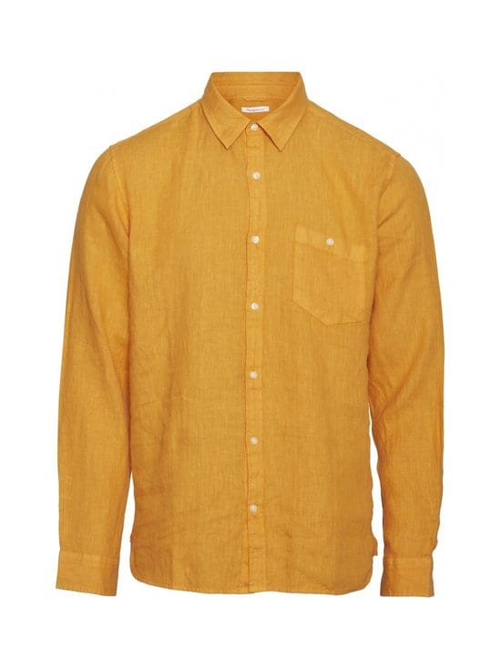 Knowledge Cotton Apparel - Pellavapaita - 1306 ZENNIA YELLOW | Stockmann - photo 1