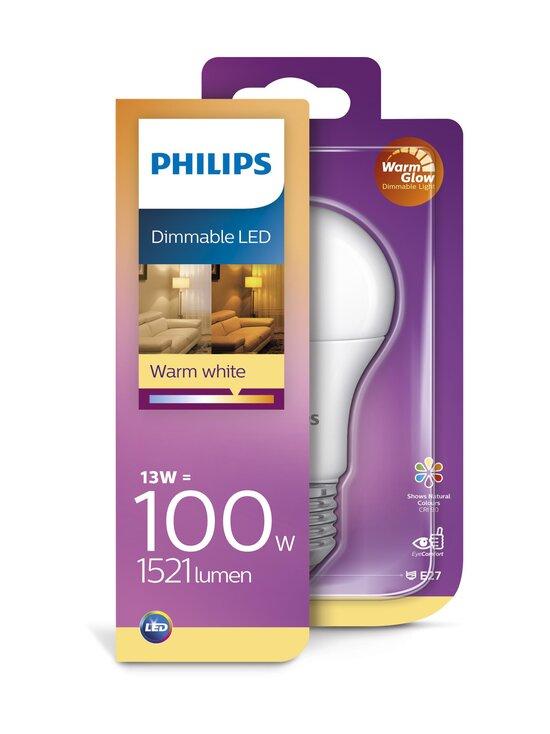 Philips - LED WarmGlow Dimmable 13W E27 -lamppu - WHITE | Stockmann - photo 2