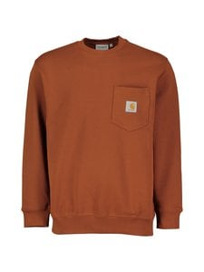 Carhartt WIP - Pocket Sweatshirt -collegepaita - BRANDY | Stockmann