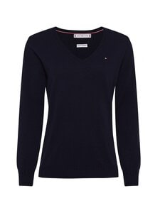 Tommy Hilfiger - Wool Cashmere V-Nk Sweater -neule - DW5 DESERT SKY | Stockmann