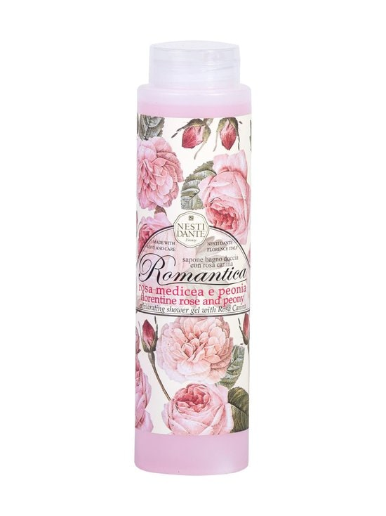 Nesti Dante - Romantica Rose & Peony Shower Gel -suihkugeeli 300 ml - null | Stockmann - photo 1