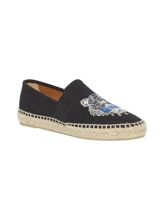 Kenzo - Tiger-espadrillot - 99 - CANVAS TIGER HEAD EMBROIDERY - BLACK | Stockmann - photo 2