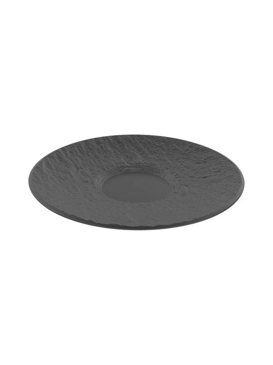Villeroy & Boch - Manufacture Rock -kahvikupin aluslautanen 15,5 cm - BLACK   Stockmann - photo 1