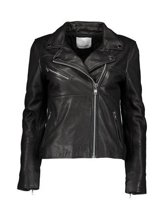 Tautou leather jacket - Samsoe & Samsoe