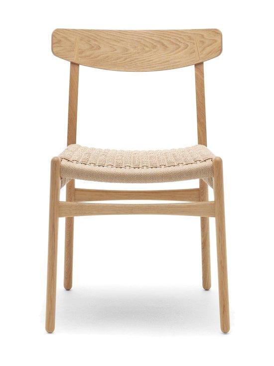 Carl Hansen&Son - CH23-tuoli - TAMMI/BEIGE | Stockmann - photo 1