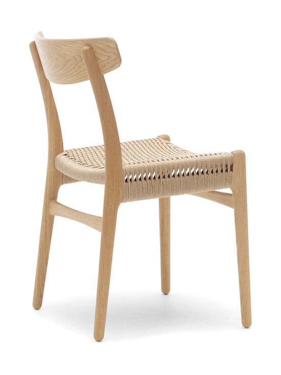 Carl Hansen&Son - CH23-tuoli - TAMMI/BEIGE | Stockmann - photo 2