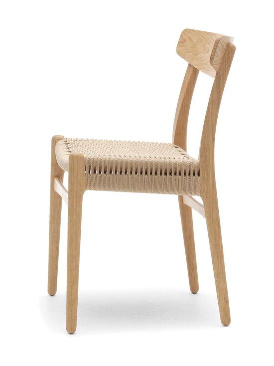 Carl Hansen&Son - CH23-tuoli - TAMMI/BEIGE | Stockmann - photo 3