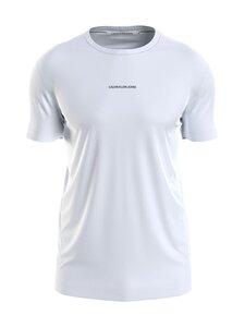 Calvin Klein Jeans - MICRO BRANDING ESSENTIAL -paita - YAF BRIGHT WHITE   Stockmann
