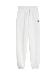 Tommy Jeans - TJW Relaxed HRS Badge Sweatpant -collegehousut - YBR WHITE | Stockmann