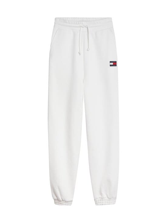 Tommy Jeans - TJW Relaxed HRS Badge Sweatpant -collegehousut - YBR WHITE | Stockmann - photo 1