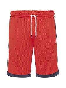 Tommy Jeans - Mesh Basketball Short -shortsit - XNL DEEP CRIMSON   Stockmann