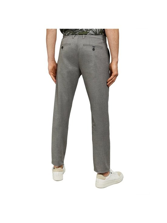 Ted Baker London - Seyii Slim Fit Plain -housut - 05 GREY | Stockmann - photo 6