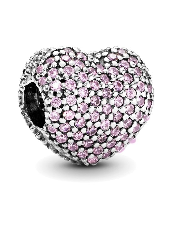 Pandora - Heart Pave Silver Clip - SILVER | Stockmann - photo 1