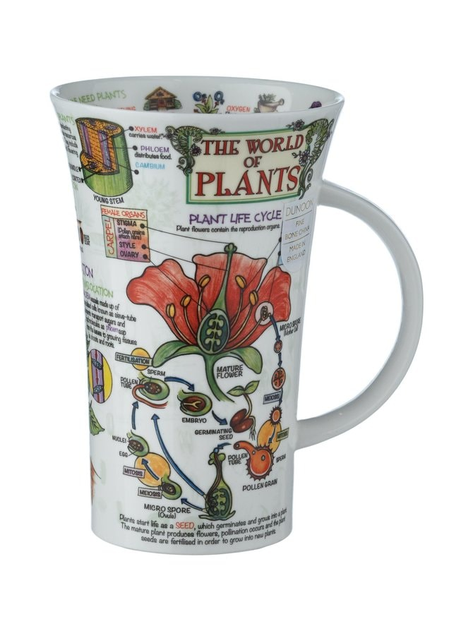 Glencoe World of Plants -muki 500 ml