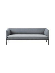 Ferm Living - Turn-sohva 3-istuttava  - VAALEANHARMAA/TUMMANHARMAA | Stockmann
