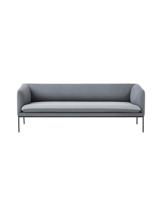 Ferm Living - Turn-sohva 3-istuttava  - VAALEANHARMAA/TUMMANHARMAA | Stockmann - photo 1