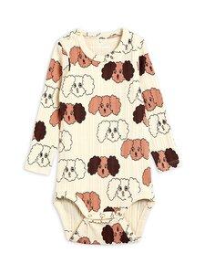 Mini Rodini - Fluffy Dog -body - BEIGE | Stockmann