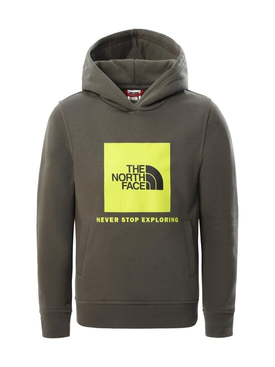 The North Face - Y Box P/O Hoodie -huppari - HG11 NEW TAUPE GREEN-MULTI-COLOR   Stockmann - photo 1