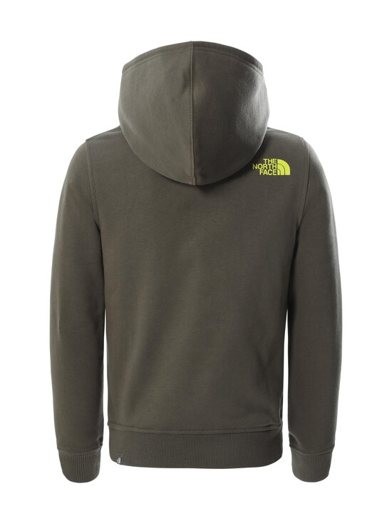 The North Face - Y Box P/O Hoodie -huppari - HG11 NEW TAUPE GREEN-MULTI-COLOR   Stockmann - photo 2