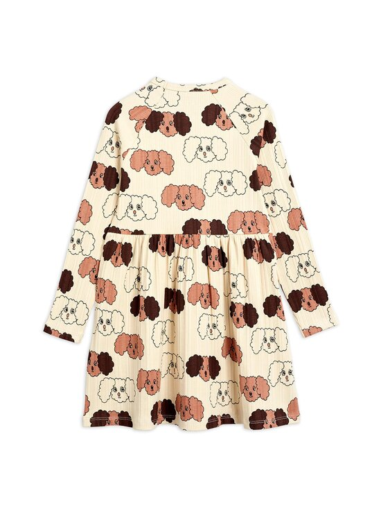 Mini Rodini - Fluffy Dog -mekko - BEIGE | Stockmann - photo 2