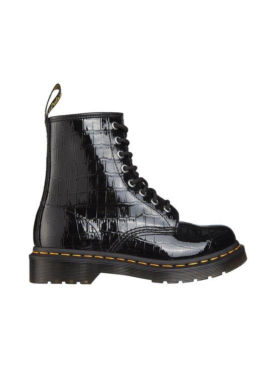 1460 W Patent Lamber Croc -kengät