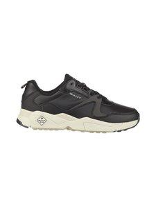 GANT - Nicewill-nahkasneakerit - G00 BLACK | Stockmann