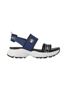 Michael Michael Kors - Rooney Logo Scuba Sport Sandal -sandaalit - SAPPHIRE 408 | Stockmann
