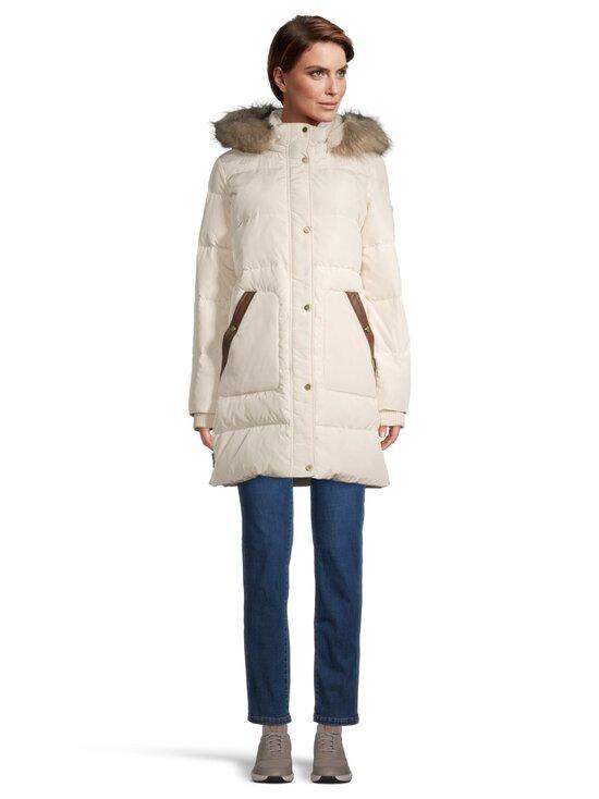 Lauren Ralph Lauren - Down Coat With Hood -untuvatakki - 2XQJ CREAM   Stockmann - photo 2