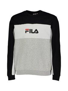 Fila - Aqil-collegepaita - A975 LIGHT GREY MELANGE BROS-BLACK-BRIGHT WHITE | Stockmann