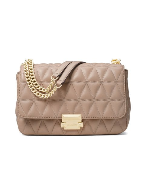 Sloan Large Quilted-Leather Shoulder -nahkalaukku