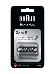 Braun - Series 8 83M -parranajokoneen teräverkko ja terät - SILVER | Stockmann