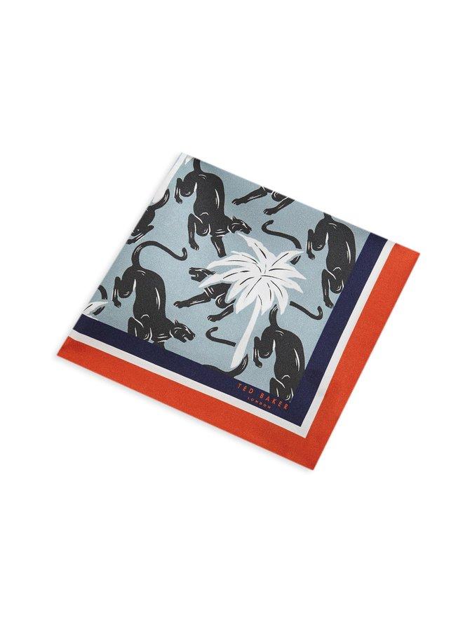 Rassle Jaguar Print -silkkitaskuliina